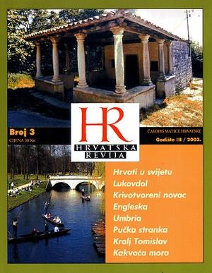 Hrvatska revija 3, 2003.