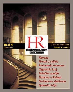 Hrvatska revija 4, 2003.