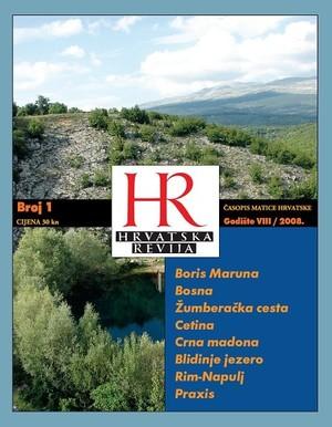 Hrvatska revija 1, 2008.