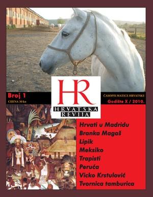 Hrvatska revija 1, 2010.