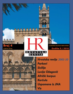 Hrvatska revija 4, 2010.