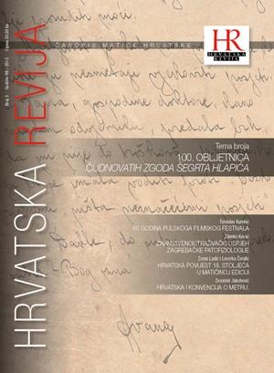 Hrvatska revija 3, 2013.