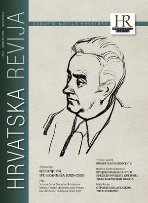 Hrvatska revija 1, 2020.