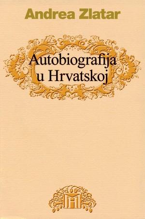 Autobiografije u hrvatskoj književnosti