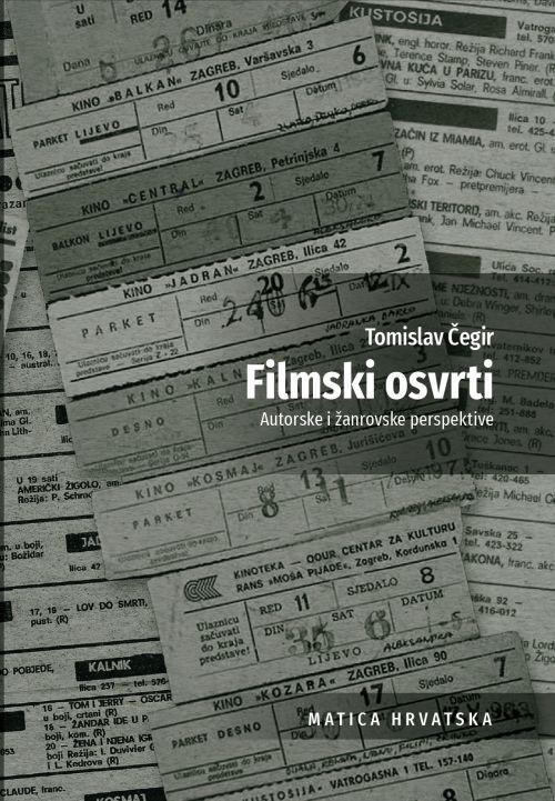 Predstavljanje knjige 'Filmski osvrti' u Knjižari Matice hrvatske