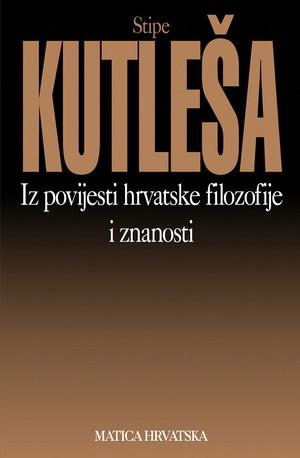 Iz povijesti hrvatske filozofije i znanosti