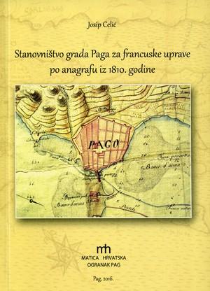 Stanovništvo grada Paga za francuske uprave po anagrafu iz 1810. godine
