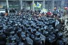 Početak raspada Ukrajine