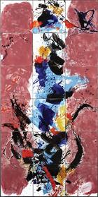 Živa energija slikarove geste