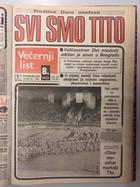 Novine i Titova smrt