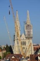 Kako obnoviti tornjeve zagrebačke katedrale?